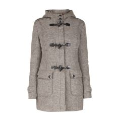 FRIEDA & FREDDIES Dufflecoat mit Kapuze in Beige | FASHION ID Online Shop