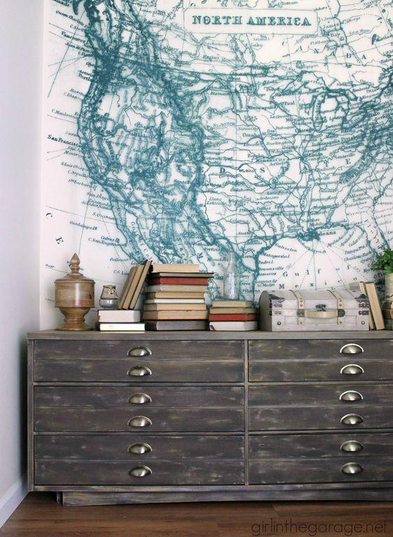 Anthropologie Inspired Industrial Dresser Themed