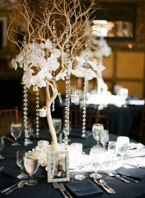 Vintage Glam Ballroom Wedding