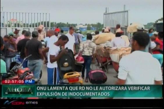 La ONU lamenta no dar autorización a la República Dominicana de verificar…