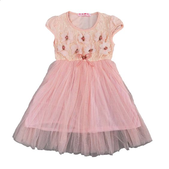 Summer Baby Girl Princess Dress 2017 Fashion Lace Flower Girl Baby ...