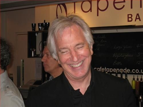 June 28, 2008 - Alan Rickman at The Point in Eastleigh. -- The Point is a theatre and dance studios for contemporary performance and contemporary dance in the South of England. Owned and operated by Eastleigh Borough Council. -- Information about The Point in Eastleigh is from Wikipedia.