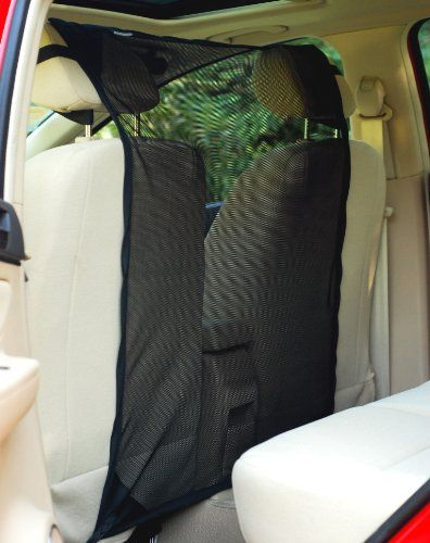 Krunco Car Front Seat Net Pet Barrier