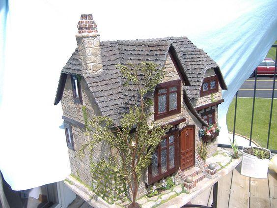 Tracy Topps Glencroft Dollhouse Kit Greenleaf | von minis on the edge