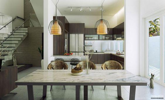 Spettacolari lampadari per la sala da pranzo n.11 | Complementi d ...