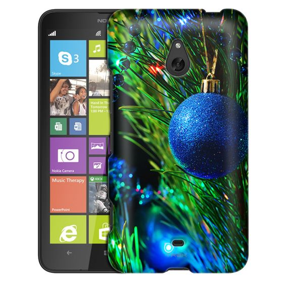 Nokia Lumia 1320 Christmas Blue Ornament on the Tree Slim Case