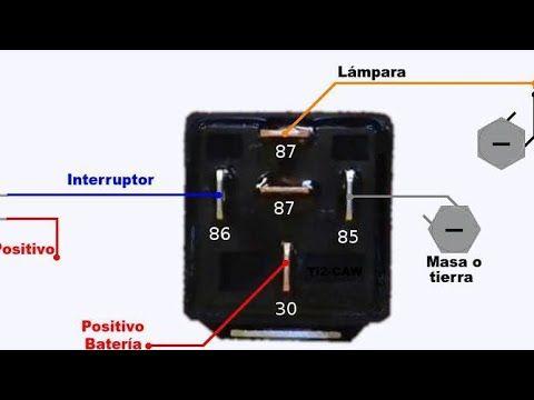 Como Conectar Un Relevador Relay Youtube Car Papercraft Make It Yourself Usb