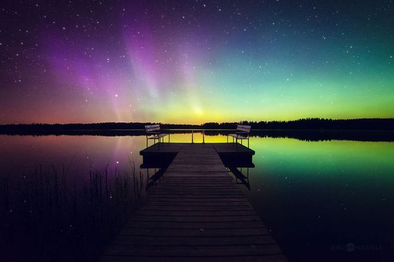 Northern Lights Photographed by Joni Niemelä in his Native Finland.1