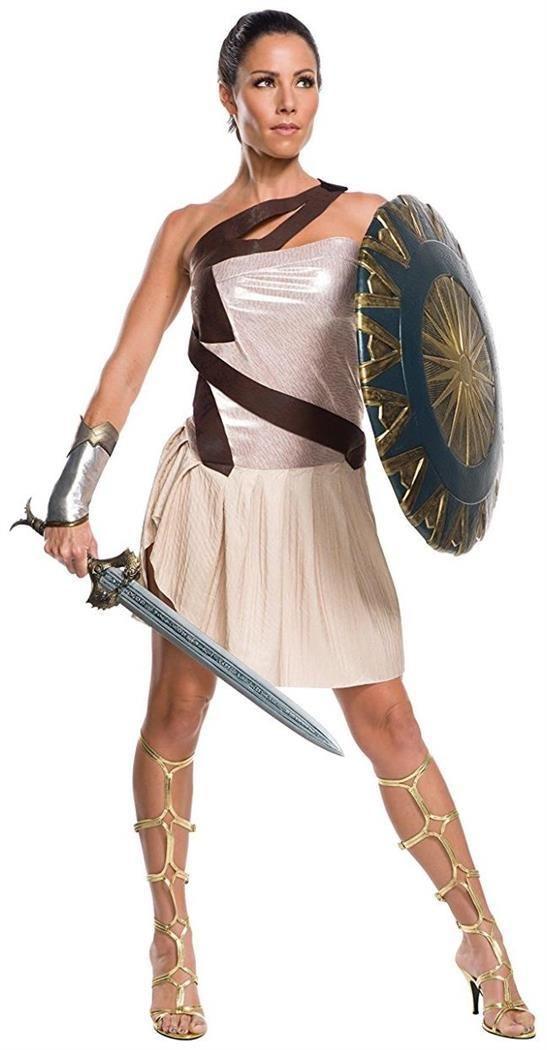Diana Themyscira Wonder Woman Movie Fancy Dress Halloween Deluxe Adult Costume