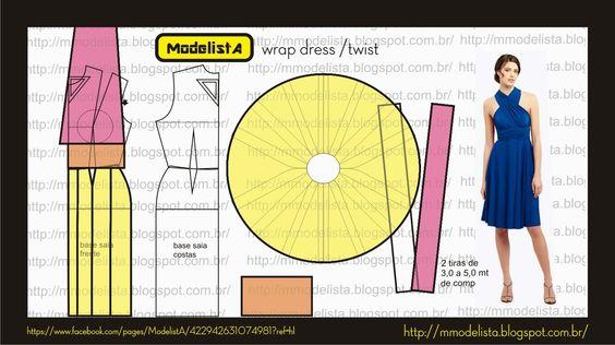 ModelistA: WRAP DRESS TWIST