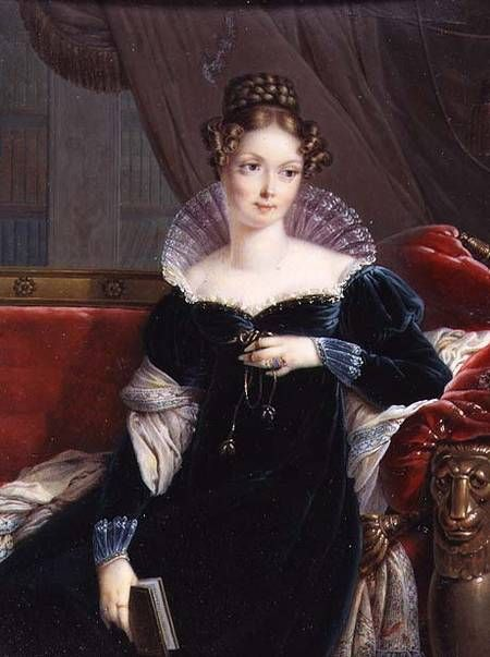 Afbeelding Joseph Heigel - Lady George William Russell Holding a Book c. 1817: