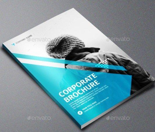 Company Profile Perusahaan Tema Biru Download  Best Company
