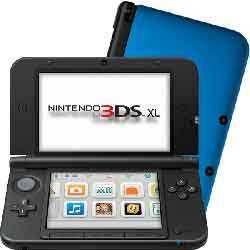 Console Nintendo 3DS XL – argenté & noir