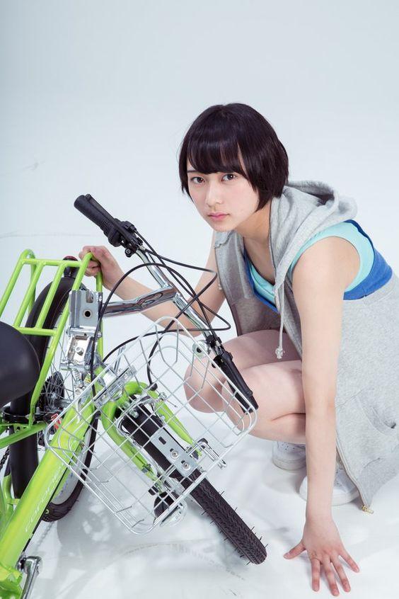自転車と鈴木絢音