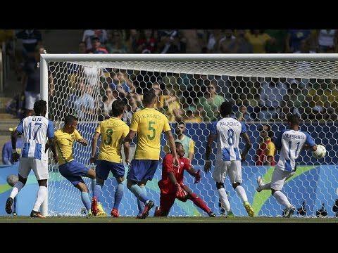 Brasil vs Honduras 6 - 0 Highlights 17/08/2016 Olympic games semifinal