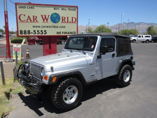 Sport Utility 2003 Jeep Wrangler 4wd Sport With 2 Door In Tucson