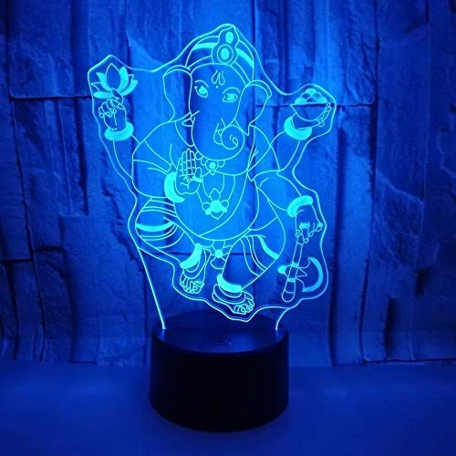 Abaya3d Optical Illusion Table Desk Lamps Led 7 Colors Touch Night Light For Kids Children Birthday In 2020 3d Led Night Light Optical Illusions Kids Lamps