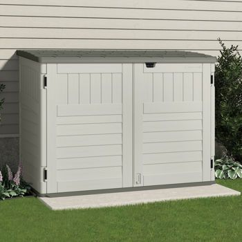 Costco Suncast 70 Cu Ft Horizontal Shed For The Home