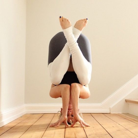headstand variation #yoga
