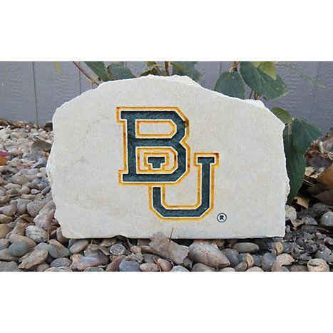 Product Baylor University Medium Porch Stone Baylor Bear Baylor Garden Stones