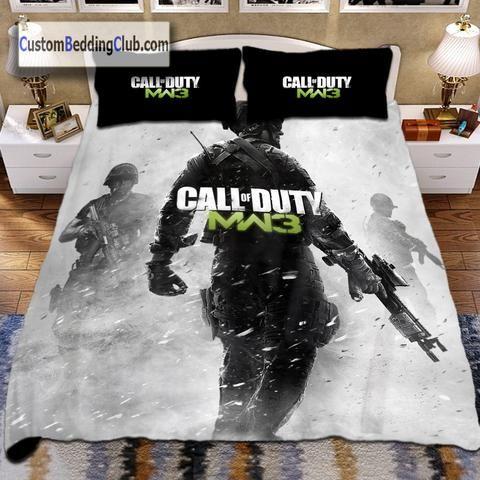 Modern Warfare 3 Call Of Duty Bed, Call Of Duty Queen Bedding