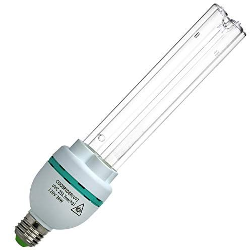 Uvc Germicidal Bulb 36 Watt E27 Screw Socket Uv Light Bulb 110 Volt Uvc Ozone Free Replace B In 2020 Uv Light Bulbs Light Bulb Bulb
