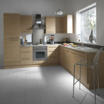 Cut Price Kitchens Belgravia Kitchen. Slab style door in a ...