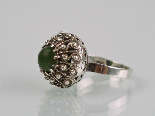 Pierscionek Spoldzielni Warmet Warszawa Kopulka 7102311396 Oficjalne Archiwum Allegro Jewelry Art Silver Jewerly Polish Jewelry