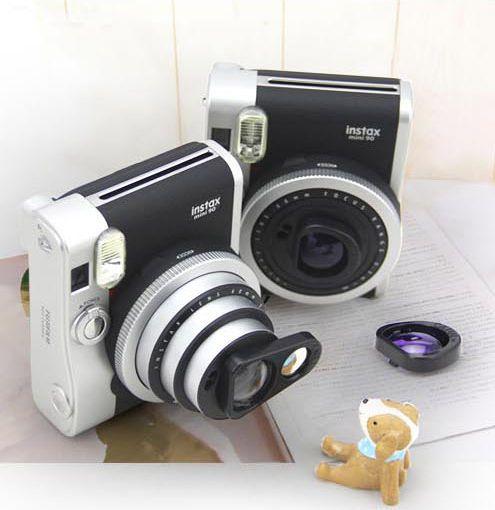fujifilm mini 90 camera close up lens self shot mirror. Black Bedroom Furniture Sets. Home Design Ideas