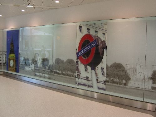 Case study, a great project at Heathrow Terminal 1, Structurally Bonded Glazed Wall Linings