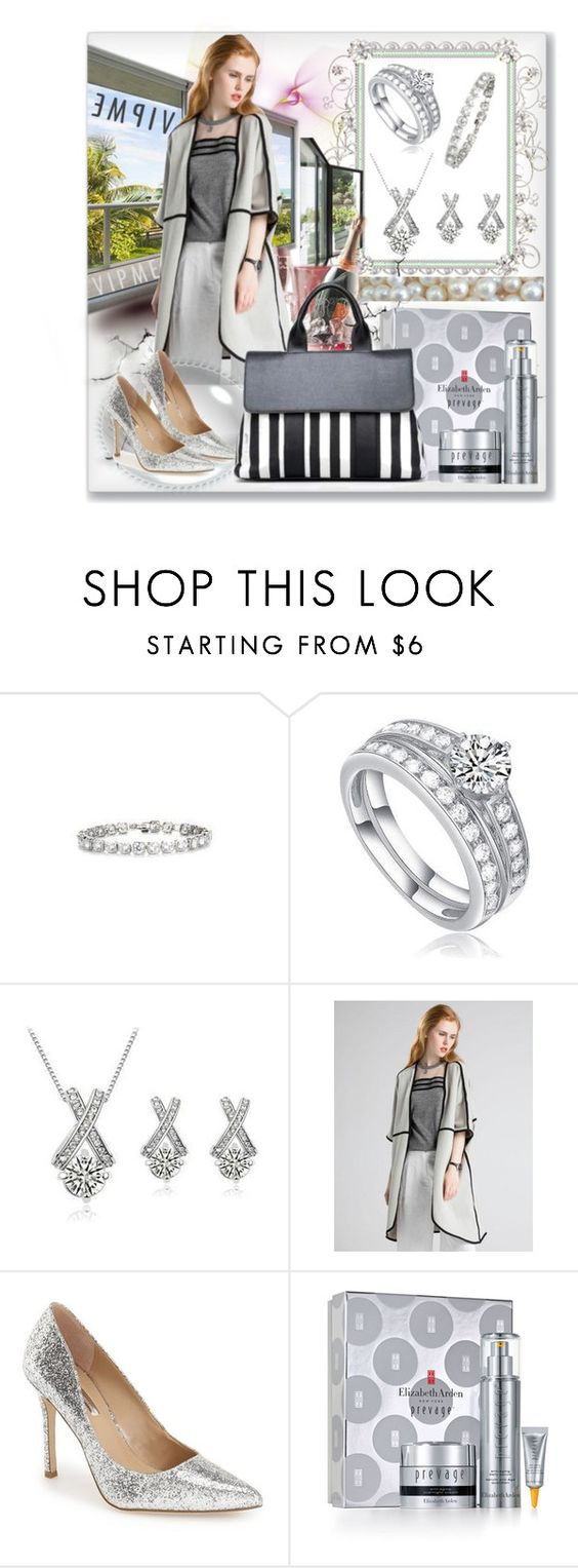 """Untitled #726"" by ane-twist ❤ liked on Polyvore featuring BCBGeneration, Elizabeth Arden, women's clothing, women, female, woman, misses and juniors"
