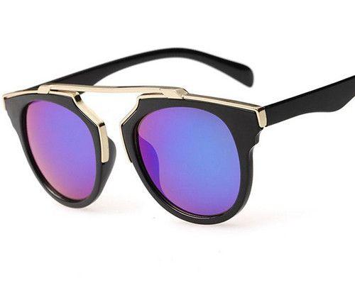 Encontrar Más Gafas de Sol Información acerca de 2015 nuevo lujo marca gafas De Sol mujer Retro Vintage diseñador moda De gafas De Sol hombre Retro Sol gafas culos De Sol, alta calidad los hombres de gafas de sol, China gafas de sol Proveedores, barato gafas de sol de color amarillo de Tianhe electronic commerce  en Aliexpress.com