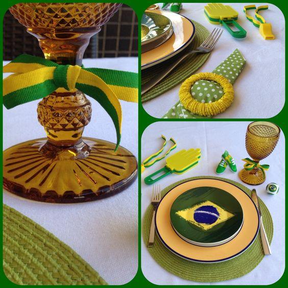 Mesa posta brasileira pra torcida no Mundial