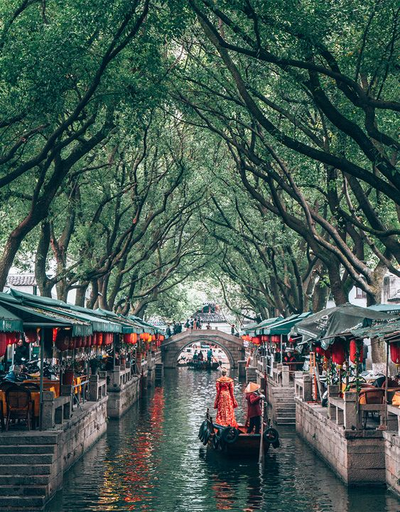 The most quiet and still of places still echo their history. Suzhou's quiet channels, ancient gardens and aged alleyways are just the place to remind yourself just that. Suzhou is a gem hidden and distilled in its ancientness.