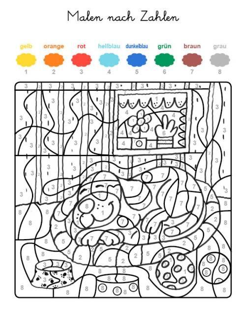 Pin Auf Coloriage Magique