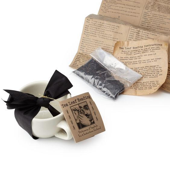 TEA LEAF READING KIT   Great gift for a PR gift exchange! UncommonGoods.com