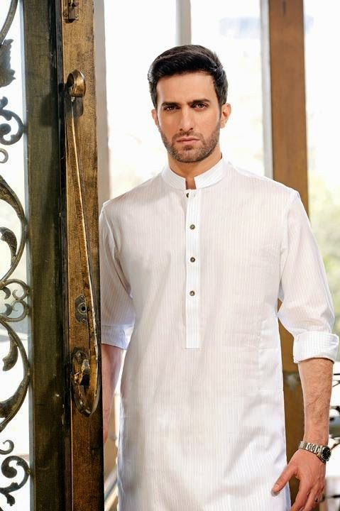 White Shalwar kurta Design for wedding