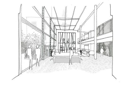 Mulberry, London Headquarters , Universal Design Studio