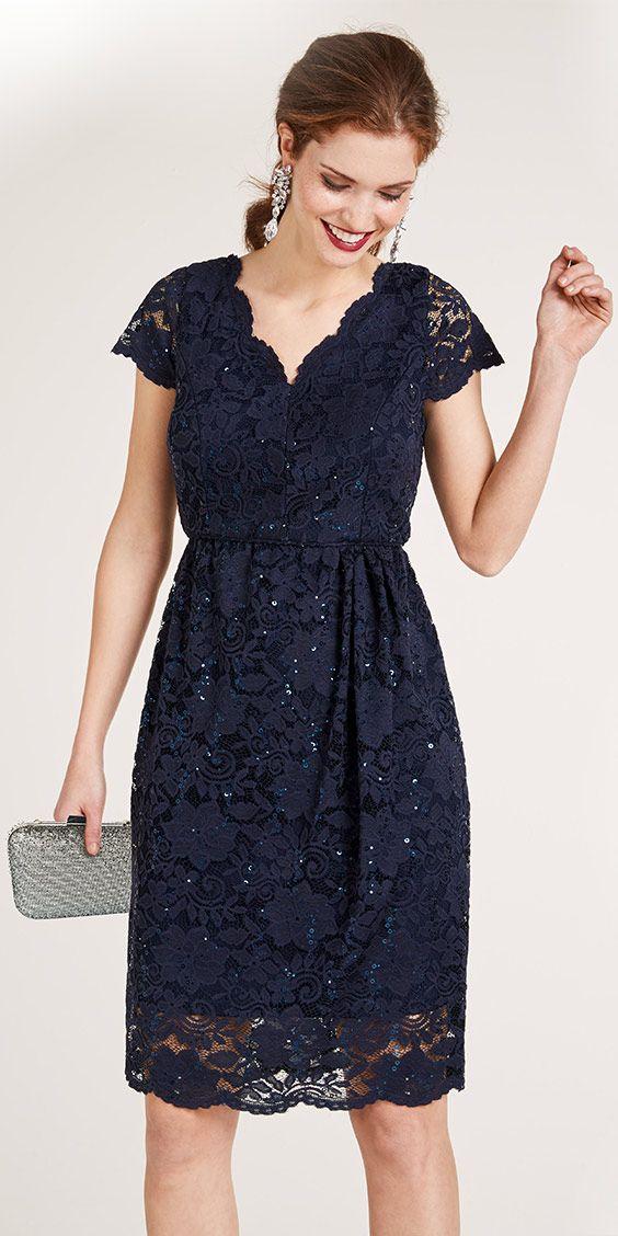 Ashley Brooke By Heine Spitzenkleid Mit Pailletten Im Heine Online Shop Kaufen In 2020 Cocktailkleid Spitze Abendkleid Kleider Damen