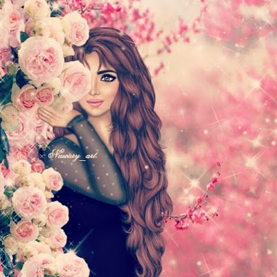 Pin By Honor On افتارات رسوم بنات Cute Girl Hd Wallpaper Girls Cartoon Art Girly Art