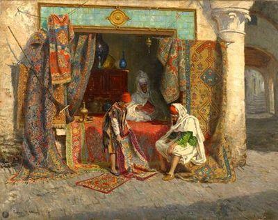 The Carpet Seller by John Frederick Lewis