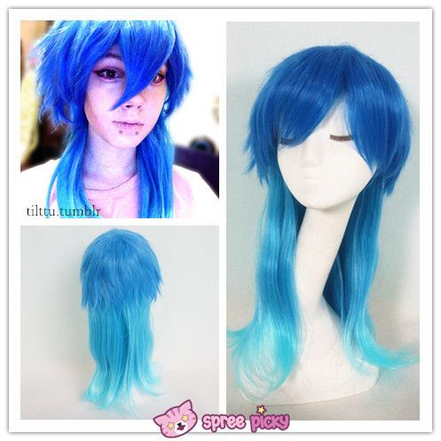 [Cosplay] DRAMAtical Murder DMMD Gradient Blue Wig SP141180