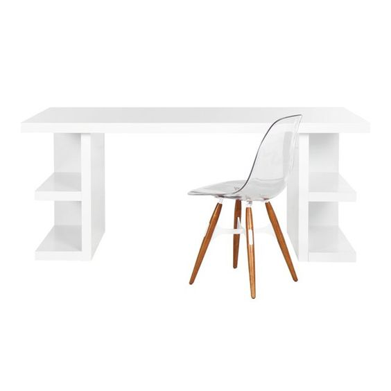 Bureau avec rangements int gr s multi achatdesign la for Achat design