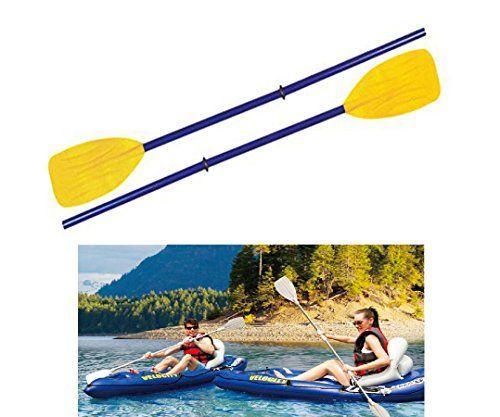 2x Kayak Canoe Rafting Fishing Rod Oars Elastic Paddle Leash HIS