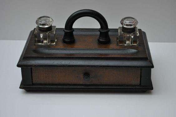 Biedermeier Schreibkästchen  Schatulle  1840-1850