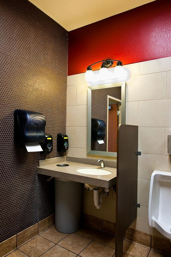 Chick fil a restrooms google search commercial for Decor hotel fil