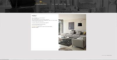 Website interieur design   http://www.webspice.be