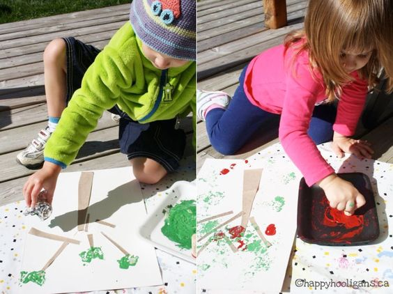 Preschool art and activities - Weekly Kids Co-Op