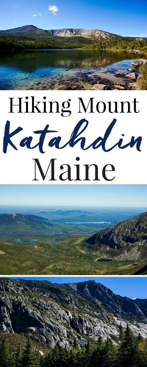 Have you ever hiked Mount Katahdin in Maine? It's the Northern terminal of the Appalachian Trail in Baxter State Park. It's a part of Maine life. #ad #PolandSpringCountry
