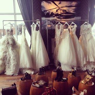 Bridal heaven with Zuhair Murad's new collection at #Bridalfashionweek #bridalmarket | www.instagram.com/theknot